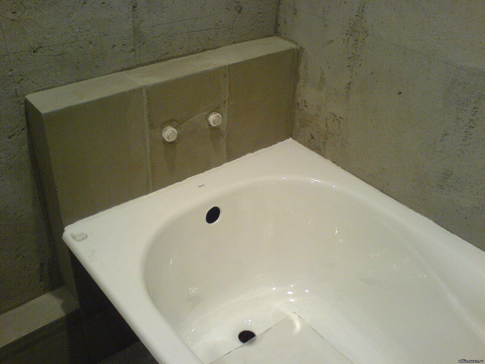 Ванная комната ремонт фото пошагово
